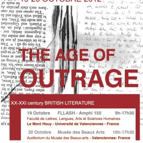 Colloque SEAC - The Age of Outrage - Programme